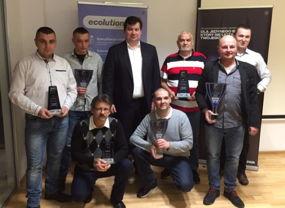 """Ecolution 2017"" Awards for our drivers"