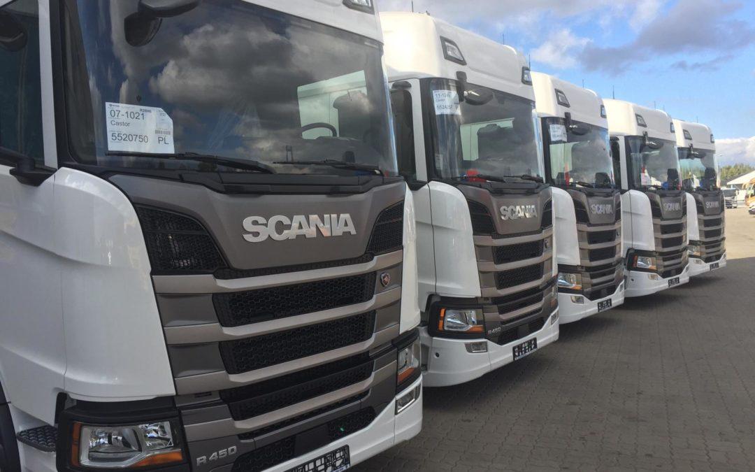 Nowe ciężarówki SCANIA